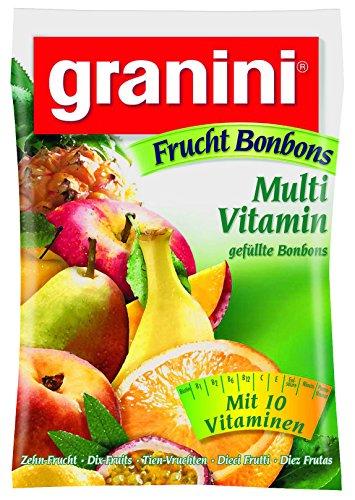 Granini Fruchtbonbon Multivitamin , 15er Pack (15x 150 g Beutel)