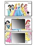 Princess Friends Pink Cinderella Snow White Ariel Jasmine Belle Sleeping Beauty Video Game Vinyl Decal Skin Sticker Cover for Nintendo DSi System