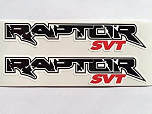 Amazoncom Ford Raptor SVT Die Cut Decals By SBD DECALS Automotive - Ford raptor decals