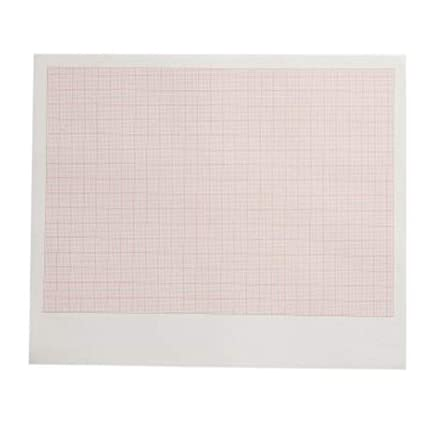 photo regarding A4 Printable Paper titled TMT A4 Non-Shiny Printable ECG Graph Paper (Pack of 500