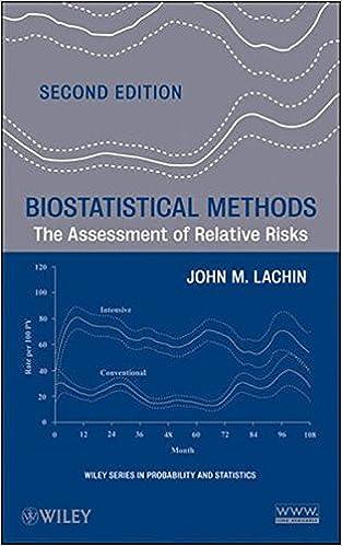 Biostatistical Methods: The Assessment of Relative Risks