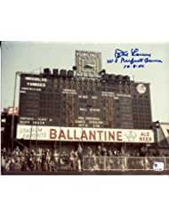 "DON LARSEN Yankees ""World Series Perfect Game"" signed COLOR 8x10 photo"
