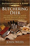 Butchering Deer, John Weiss, 158011220X