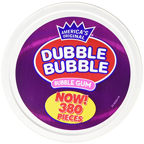 Dubble Bubble 380Count Tub - Fruitastic Flavors, 3LBS 12.3 OZ (1.71 -