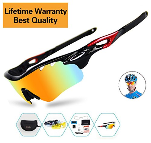 Yellow Lens Night Vision Goggles Sunglasses Driving Riding Sport Glasses UV400 - 5