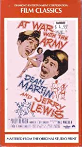 At War with the Army [VHS]