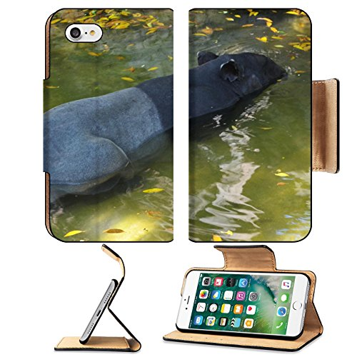 Liili Premium Apple iPhone 7 Aluminum Snap Case tapir wild adult male in river corcovado national park costa rica IMAGE ID - Park Meadows Mal