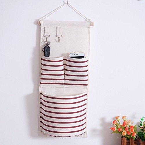 BranXin - Wall Hanging Storage Bags Organizer Linen Closet H