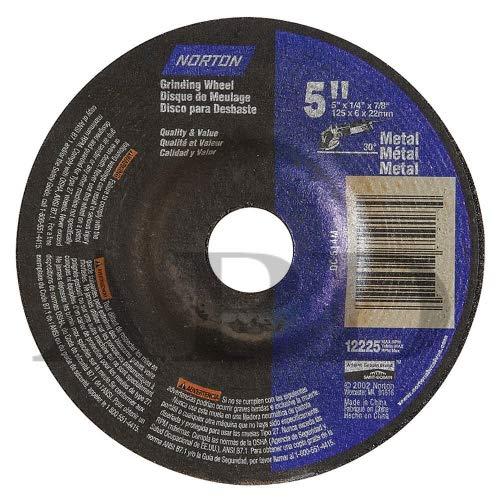 25 PK Norton Metal Grinding Wheel Type 27 5 in X 1//4 in X 7//8 in //// 66252843614