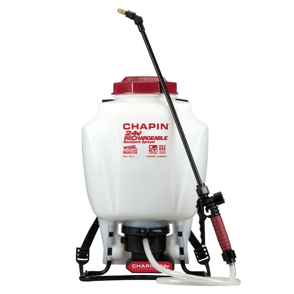 Chapin 63924 24v Battery Backpack Sprayer Powered, 4 gallon by Chapin International