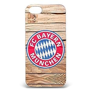 Beautiful Design FC Bayern Munchen 3D Durable Phone Case for Iphone 5/5s FC Bayern Logo