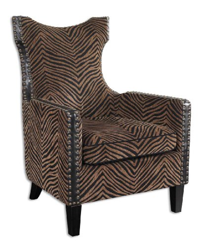 Uttermost Kimoni Armchair 33.5 Inches by 30.5 Inches by 42.75 Inches Tall by Uttermost