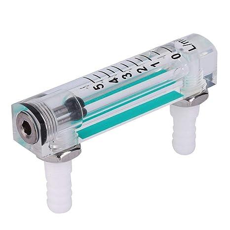 Oxygen Ozone Flow Meter Measuring Device w// Valve Lightweight 1-15L