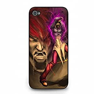 Durable Iori Yagami King of Fighters Phone Case Cover for Iphone 5/5s King of Fighters Special Design