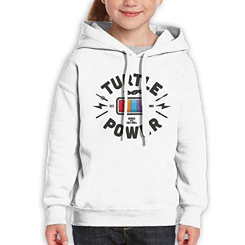 FDFAF Teenager Youth Turrle Power Battery Design Camper Particular Hoodie Sweatshirt XL - Sunglasses Pink Drake
