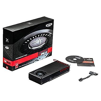 XFX RX-480M8BFA6 Radeon RX 480 8GB GDDR5 - Tarjeta gráfica ...