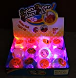 12 pcs LIGHTS UP! LED Bounce Balls Flashing Rubber Bouncy Balls for Kids B11752 ~ We Pay Your Sales Tax