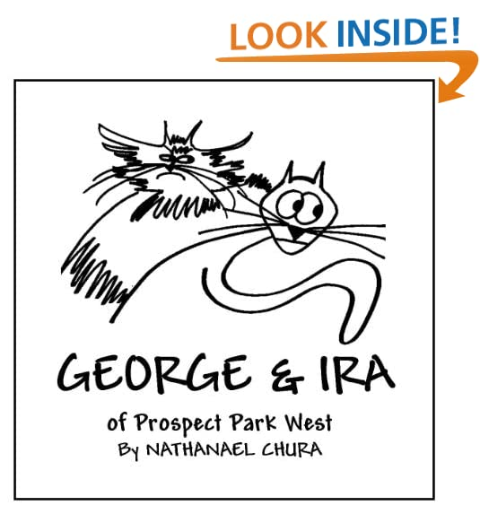 George and Ira of Prospect Park West: A Tale of Two Cats PDF Text fb2 book