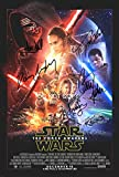 #10: Star Wars The Force Awakens 12x18 reprint cast signed autographed movie poster #2
