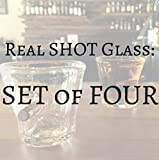 Real SHOT Glasses (Set of Four)