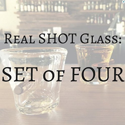 Real SHOT Glasses (Set of Four) by Firehouse Studios
