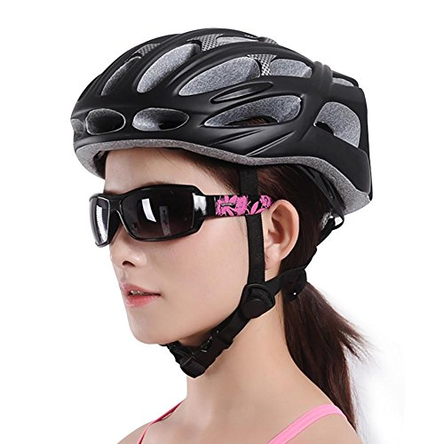 MIAO ?Bike?Bicycle Helmet - Outdoor Man and Woman Lightweight Cycling Equipment with LED Lights by miaomiao