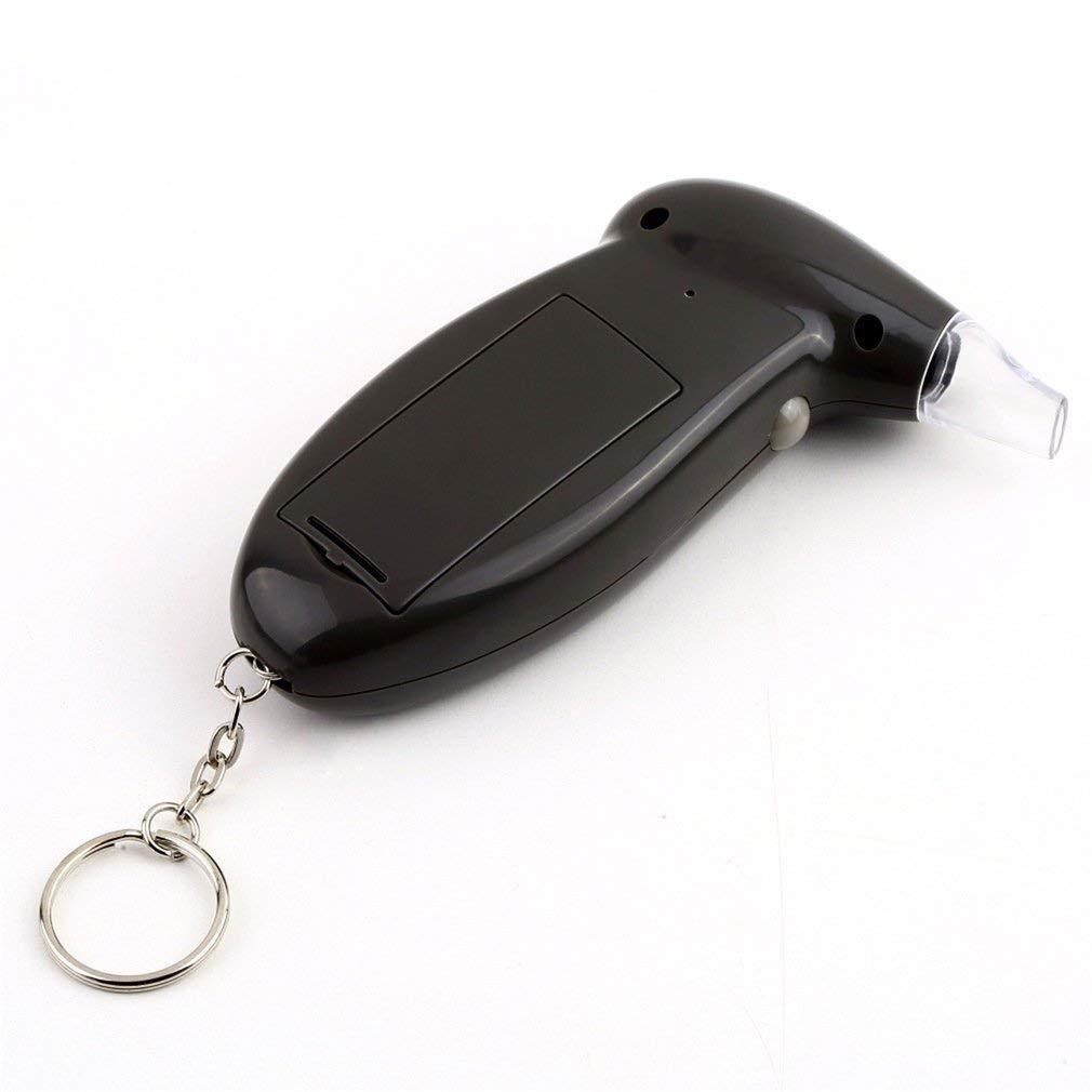 Rocita Digital Alkohol Tester Alkoholtester Analyzer-Detektor-Test Keychain Breathalizer Breathalyser Ger/ät LCD Display