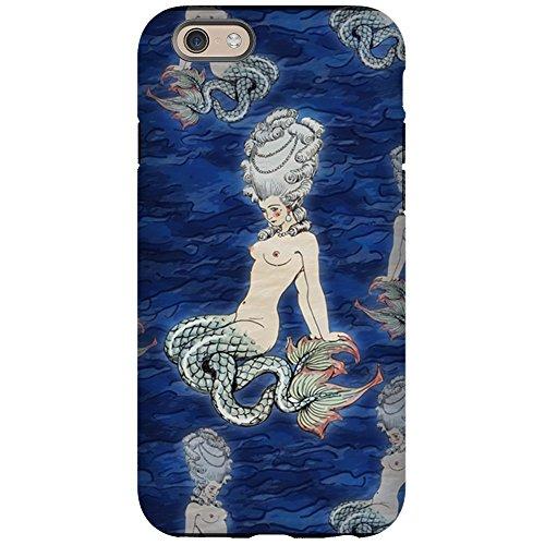 CafePress - Little Rococo Mermaid iPhone 6 Tough Case - iPhone 6/6s Phone Case, Tough Phone -