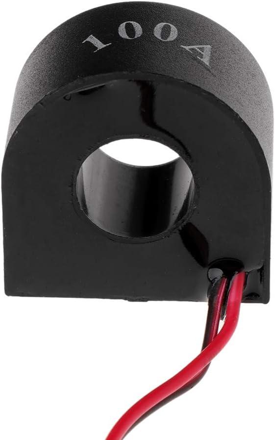 blau Cuigu 22 mm AC50-500 V 0-100 A Digital LED Voltmeter Spannung Indikator Steuerger/ät Licht Amperemeter Strompr/üfer 2 in 1 mit CT 1.11x2.02