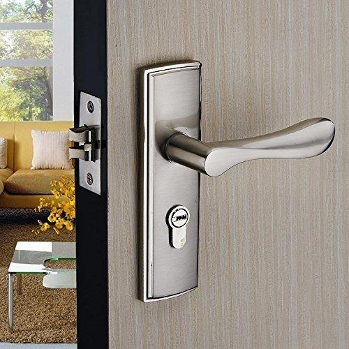 vanme european style minimalist interior wood lock handle locks the rh amazon co uk bedroom door locked from inside bedroom door lock singapore