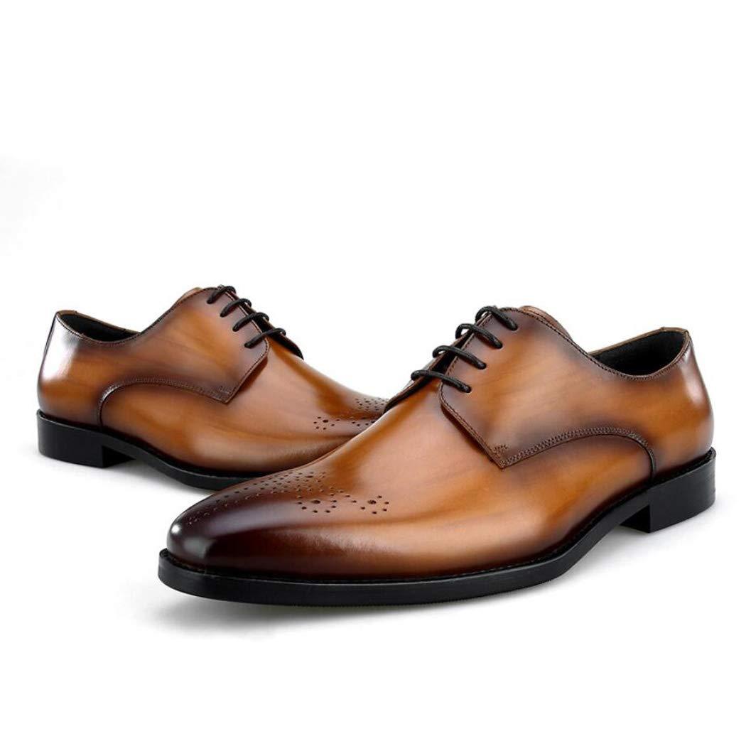 Zxcvb Herrenschuhe Herren Business Schuhe Version des Kleides Schuhe First Layer Leder Herren Single Schuhe