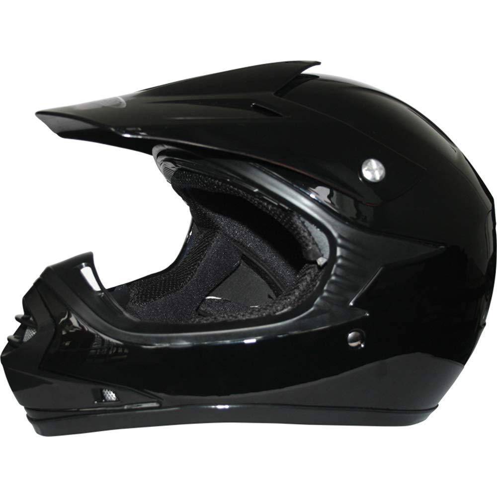 S 49-50cm /& Gloves S 5cm Kids CAMO Motocross 1PC Suit Leopard LEO-X15 Black Kids Motocross Motorbike Helmet XS 3-4Yrs /& Goggles