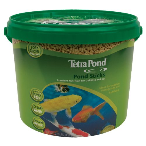(TetraPond Pond Sticks, Healthy Nutrition for Goldfish and Koi)