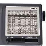 TECSUN R-9012 AM/FM/SW 12 Bands Shortwave Radio