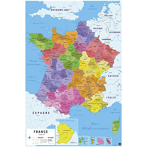 Erik Editors, Group Poster Carte de France 2017