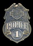 Harley-Davidson Tin Sign - HD Police Shield