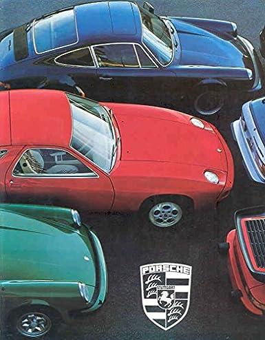1978 Porsche 911 911SC 930 Turbo 928 924 Brochure