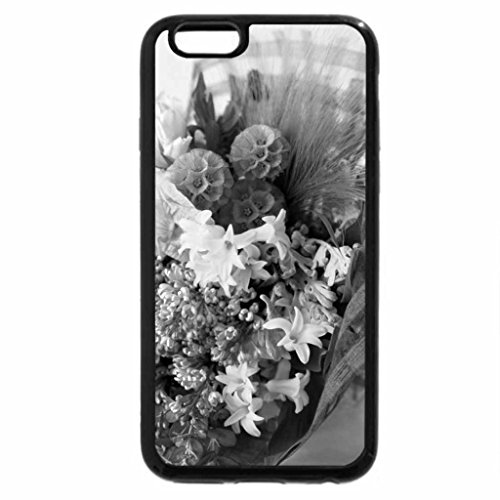 iPhone 6S Plus Case, iPhone 6 Plus Case (Black & White) - Thinking of you.