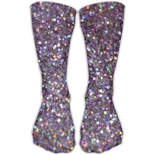 Doppyee Awesome Glitter Sparkles Shimmer Classics Stockings Great Quality Knee High Tube Socks Sports Long Socks For Men Women (Roller Derby Girl Costumes)