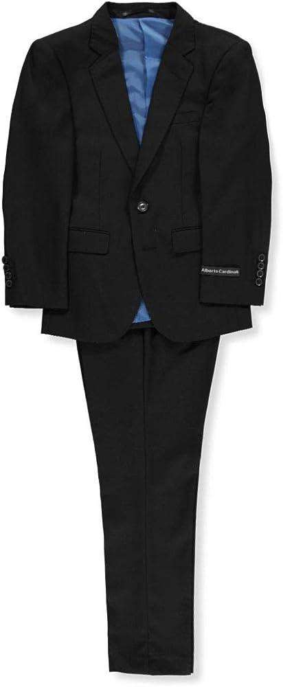 Amazon.com: Alberto Cardinali Big Boys 2-Piece Slim Fit ...