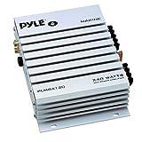 PYLE PLMRA120 240-Watt 2-Channel Waterproof Marine/Car Amplifier Size: 240 Watts CustomerPackageType: Standard Packaging Style: 2 Channel, Model: PLMRA120, Outdoor&Repair Store