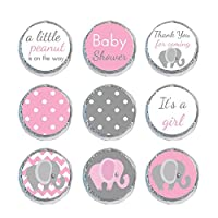 Mini Candy Stickers Elephant Set of 324