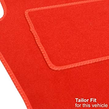 FIAT 500L 2013 ONWARDS RED TAILORED CAR MATS