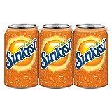 Sunkist Orange Soda (12 Oz cans), 24 Count, 288 fl. Oz.
