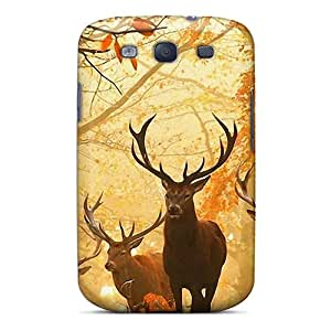 Premium [TON3779lYLy]big Deer Case For Galaxy S3- Eco-friendly Packaging