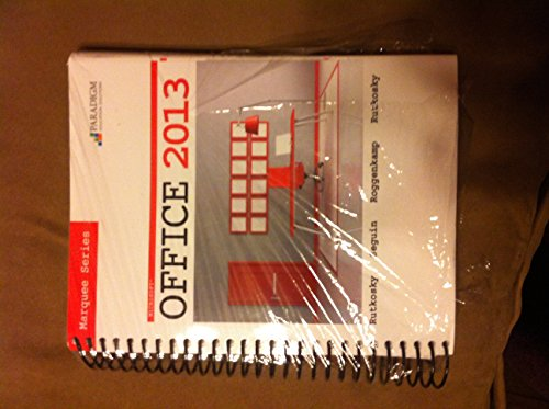 Microsoft Office 2013,Marquee... W/Cd