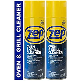 Zep Heavy-Duty Oven and Grill Cleaner ZUOVGR19 (2-Pack) Dissolves Grease on Contact