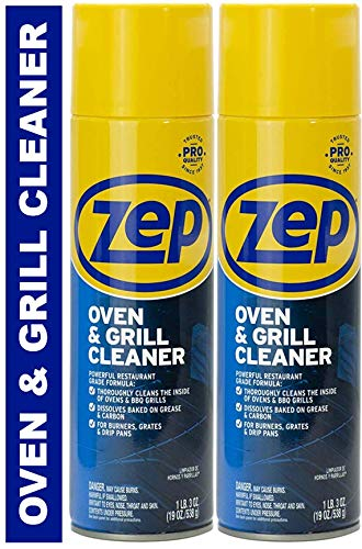 - Zep Heavy-Duty Oven and Grill Cleaner ZUOVGR19 (2-Pack)