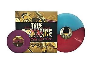 "True Romance Soundtrack (Limited Edition Half Pink/Half Blue Colored Vinyl w/ Bonus 7"")"