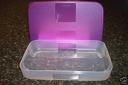 Tupperware congelador compañeros 2,25 taza morado sello: Amazon.es ...